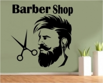 Autocolant barber shop 2