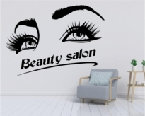 Autocolant Beauty Salon