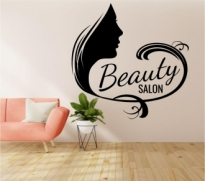 Autocolant perete Beauty Salon
