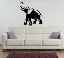 Sticker Elefant