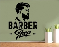 Sticker decorativ Barber shop 5