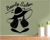 Sticker decorativ Beauty Salon