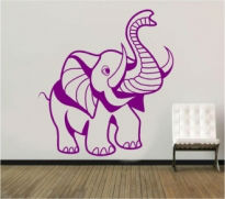 Sticker decorativ elefant