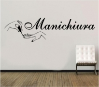 Sticker decorativ Manichiura