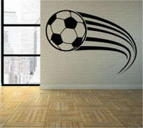 Sticker decorativ minge de fotbal