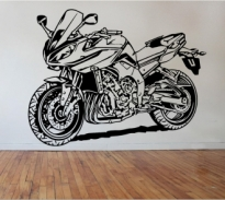 Sticker decorativ motocicleta sport