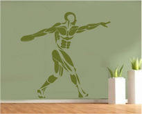 Sticker decorativ sportiv