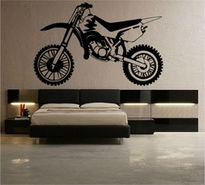 Sticker motocicleta cross 2
