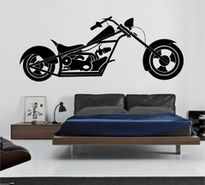 Sticker moto chopper 2