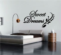 Sticker text SWEET DREAMS