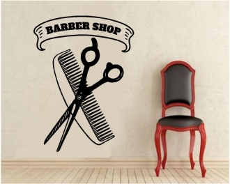 Sticker barber shop 1