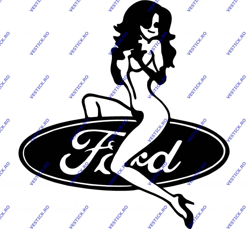 Sticker Funny Ford