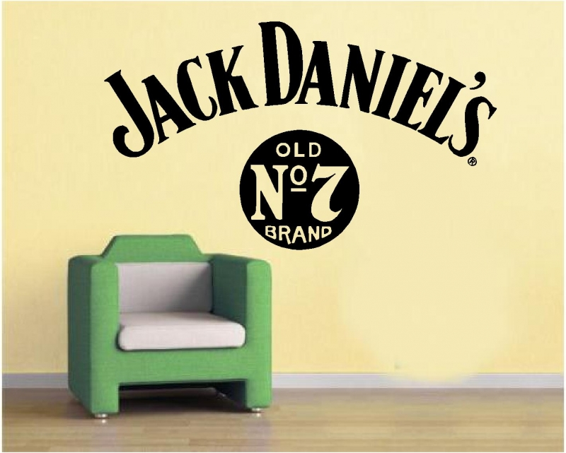 Sticker decorativ Jack Daniels