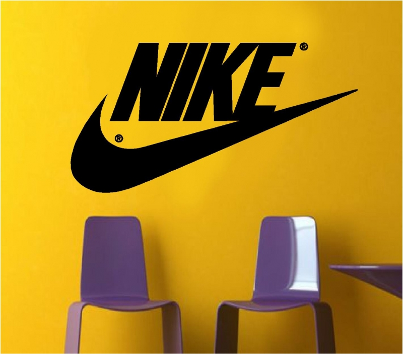 Sticker decorativ Nike