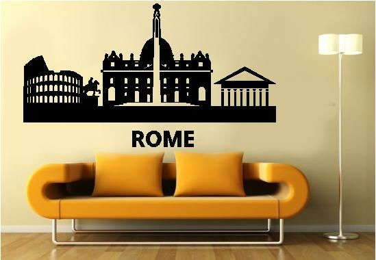 Sticker decorativ Roma
