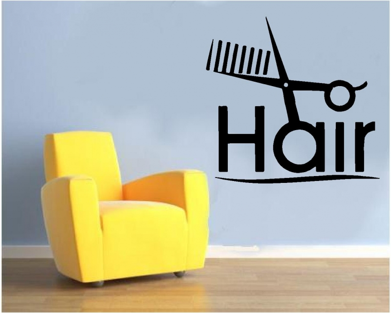 Sticker decorativ Hair