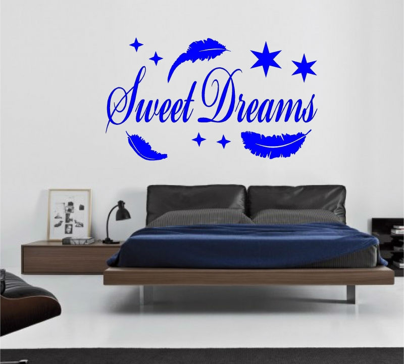 Sticker decorativ sweet dreams