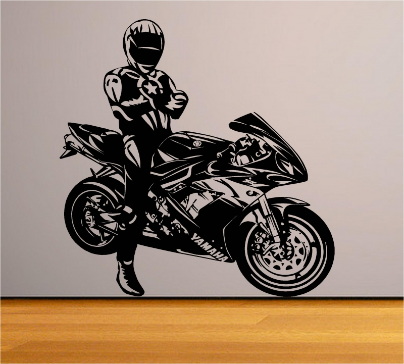 Sticker decorativ Yamaha R1