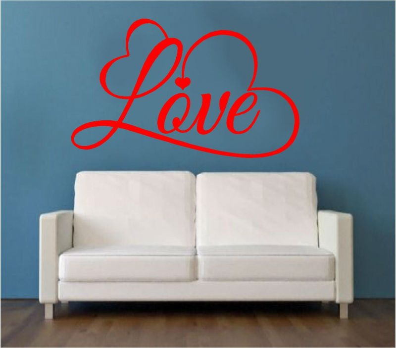 Sticker decorative LOVE