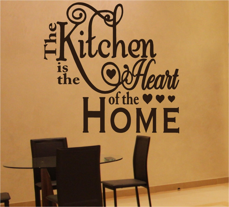 Sticker Kitchen is the heart of the home