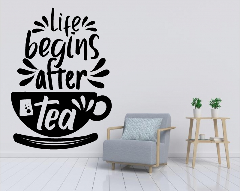 Sticker Life begins after tea